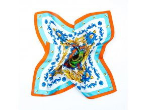 Šátek Baroque Ornaments in Orange
